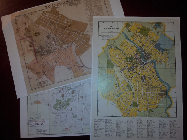 SOTM Baltics - old maps of Tartu